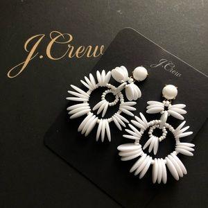 NWT J. Crew statement earrings